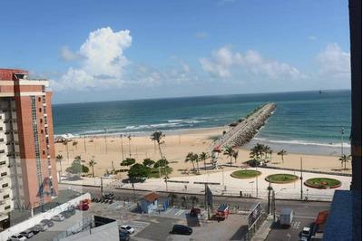 Apartamento Com 1 Dormitório Para Alugar, 60 M² Por R$ 1.300/mês - Praia De Iracema - Fortaleza/ce - Ap0640