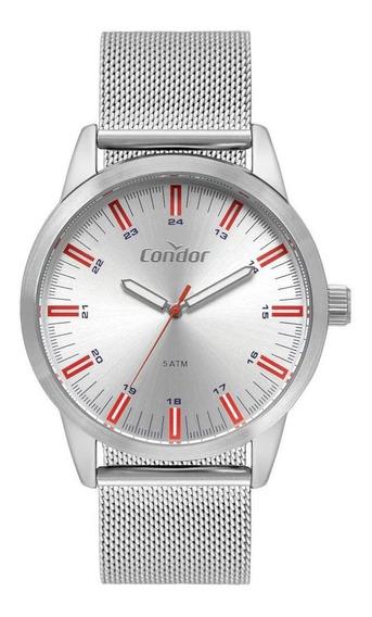 Relógio Condor Metal Masculino Prata Co2035mtc/3k