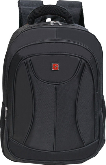 Mochila Executiva Notebook Laptop Até 17 Polegadas Black