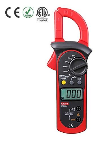 Pinza Voltiamperimetrica Unit Ut200a