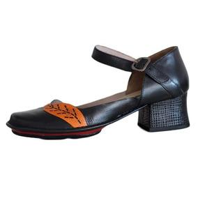 8f75f2e99c Sapato Feminino Vintage Retro - Sapatos no Mercado Livre Brasil