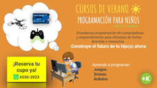 Cursos De Verano - Programación Para Niños De 7 A 14 Años