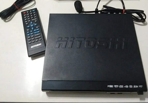 Reproductor Hitoshi De Dvd - Vcd - Mp3 - Usb - Sd - Karaoke