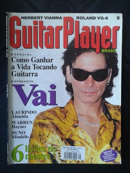 Revista Guitar Player N ° 1 Steve Vai