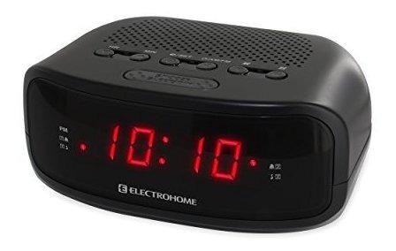 Electrohome Digital Amfm Radio Reloj Con Bateria De Respaldo