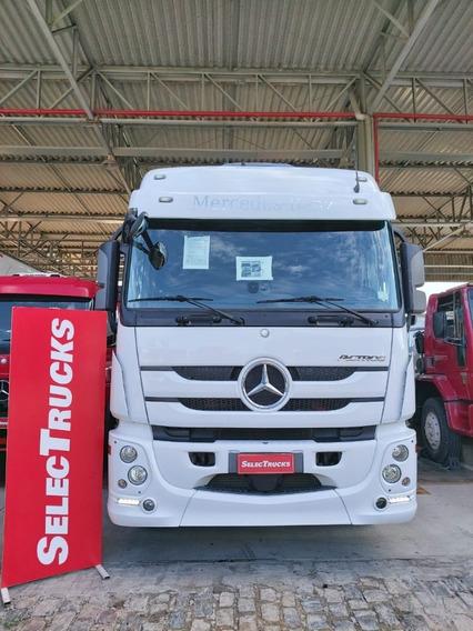 Mb Actros 2546 6x2 2016 Teste Drive Mercedes Benz Selectruks