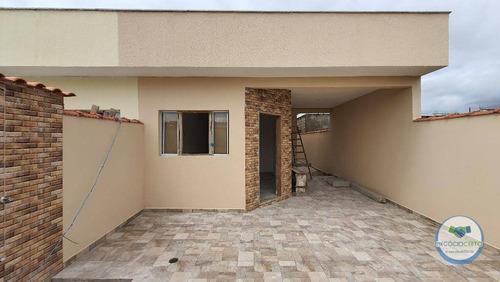 Casa Com 2 Dormitórios À Venda, 65 M² Por R$ 220.000,00 - Jardim Jamaica - Itanhaém/sp - Ca0562