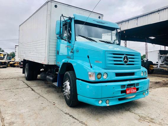 Mercedes-benz L 1218 Ano 2001 Toco Baú