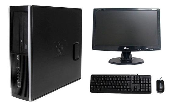 Computador Hp Elite 8100 I5 8gb 120ssd Monitor 19 Polegadas