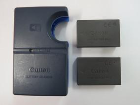 Carregador Canon Cb-2ls + 2 Baterias Nb-1hl