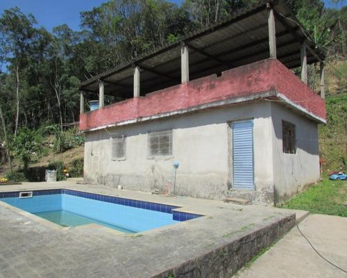 Juquitiba/chácara C/piscina/lazer/morar/ref:04494
