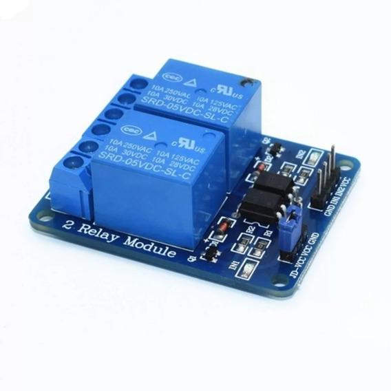 Módulo Relé 2 Canais 5v | Arduino, Pic, Raspberry Pi