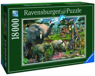 Rompecabezas 18000 Piezas Ravensburger: África