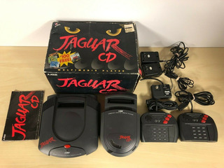 Atari Jaguar Cd Launch Edition Black Console