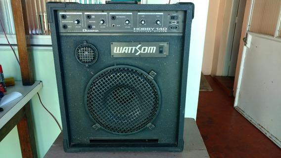 Caixa De Som Wattsom Hobby 140 ( Mult-uso System