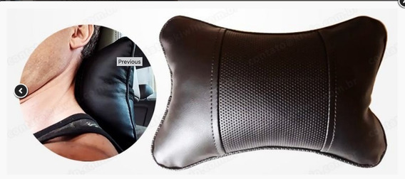 Travesseiro Almofada Descanso Da Coluna Cervical Veicular