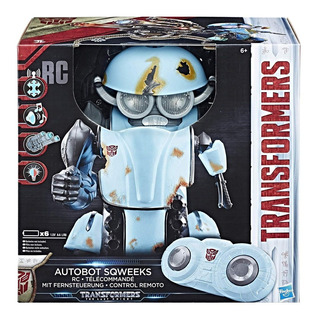 Autobot Sqweeks Robot Transformes Radio (control Remoto)