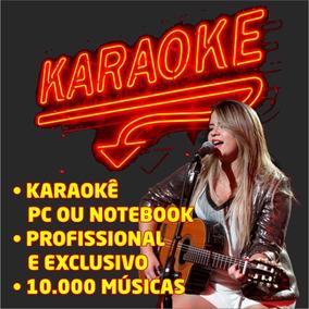 Karaoke Videoke Para Pc E Note + De 10.00 Músicas Karaokê