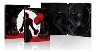 It Eso 2 Steelbook Pelicula James Mcavoy Blu-ray + Dvd