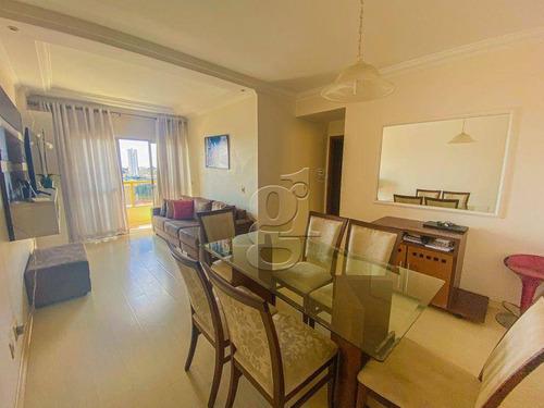 Imagem 1 de 10 de Edifício Torres Brasil - Apartamento Com 3 Dormitórios À Venda, 93 M² Por R$ 395.000 - Centro - Londrina/pr - Ap1344