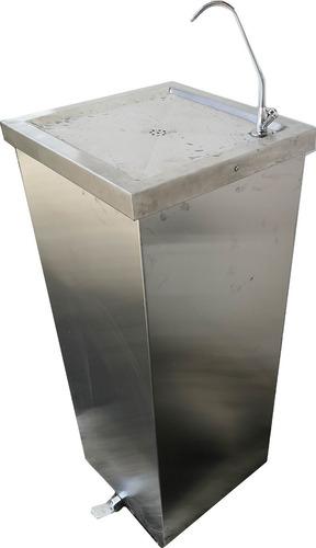 Dispensador Fuente De Agua Fria Filtrada Accionada Por Pedal