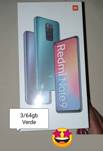 Xiaomi Redmi Note 9 Color Verde 3/64gb