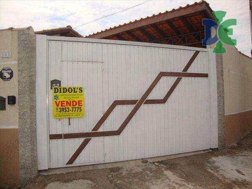 Casa Com 2 Dormitórios À Venda Por R$ 290.000,00 - Cidade Nova Jacareí - Jacareí/sp - Ca0195