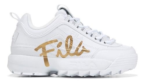 fila blanco con dorado