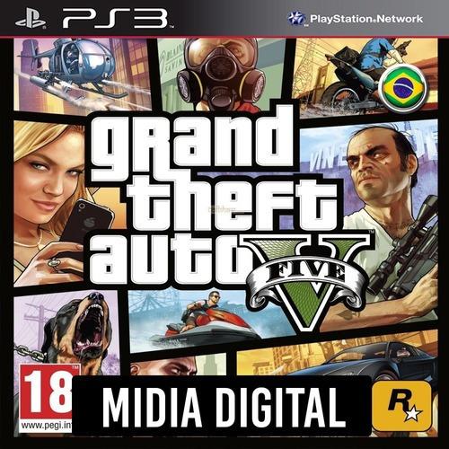 Ps3 Psn* - Gta 5 Grand Theft Auto V Portugues