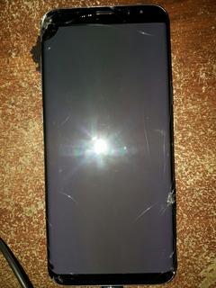 Samsung S8 Módulo Dañado Placa Repuestos Leer
