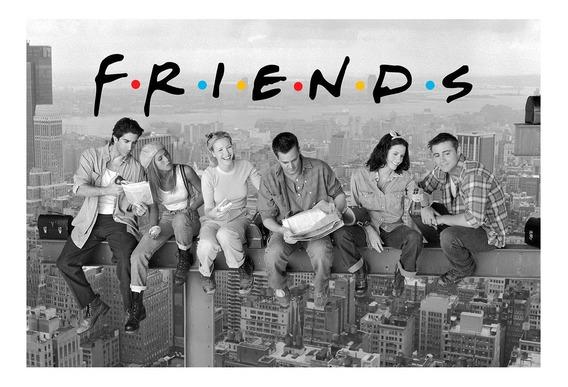 Placa Quadro - Decorativo - Friends - Seriado - (h261)