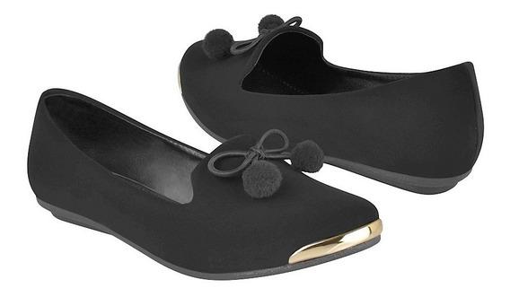 Zapatos Casuales Para Niña Miss Pink 170541 Negro