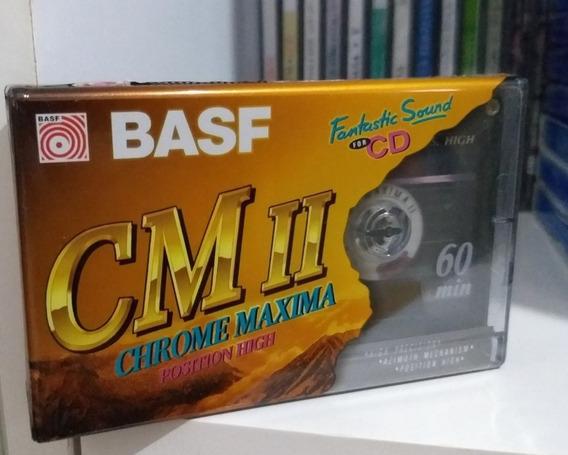 Fita Cassete Basf Chrome Máxima 60 Lacrada Frete Grátis :)