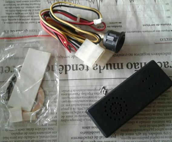 Reator Para Lâmpadas Uv Negra Pc Akasa Mod Ak173uv Detalhe