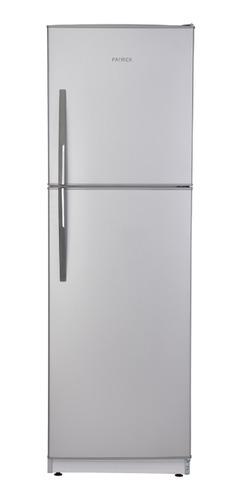 Heladera Patrick HPK136  silver con freezer 300L 198V - 242V