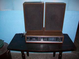 Antigua Radio Marca Diamond, Con 2 Parlantes, Funciona