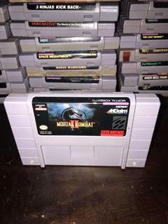 Mortal Kombat Ii Super Nintendo Snes!!!