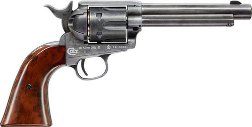 Pistola Revolver Co2 4.5mm Colt Saa, 45 Ma