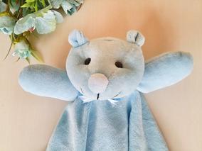 Naninha Bebê- Cheirinho- Urso Plush Personalizada