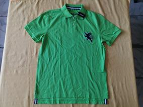 Playera Polo Express Talla Mediana Talla Mediana Color Verde