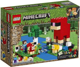 Lego Minecraft 21153 - La Granja De Lana - 260 Pzs