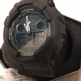 Relógio Cásio G Shock Ga 100 1a1 Masculino Original