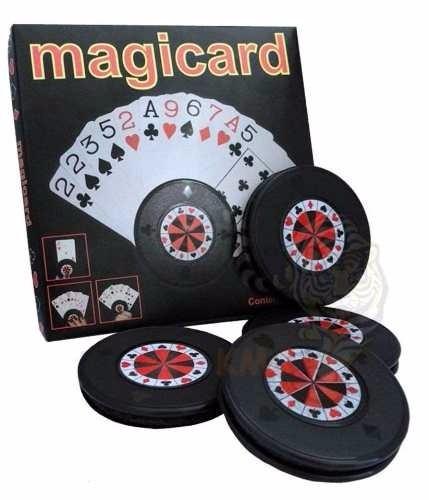 Suporte De Cartas Baralho C/ 4 Segurador De Cartas P/ Poker