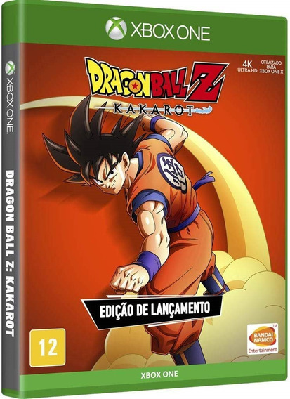 Dragon Ball Z Kakarot Ed Lançamento (mídia Física) Xbox One