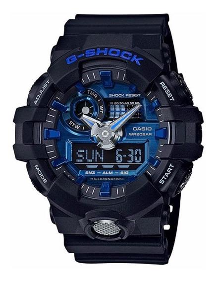 Relógio Casio G-shock Digital/analógico Ga-710-1a2