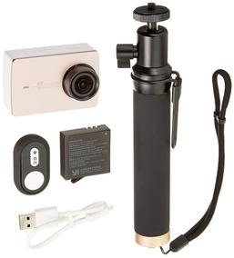 Action Camera Xiaomi Yi 2 4k + Selfie Stick + Caixa Estanque