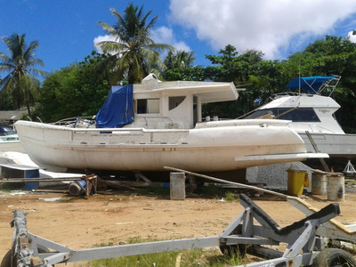 Barco Trawler 2018 - Fibra De Vidro