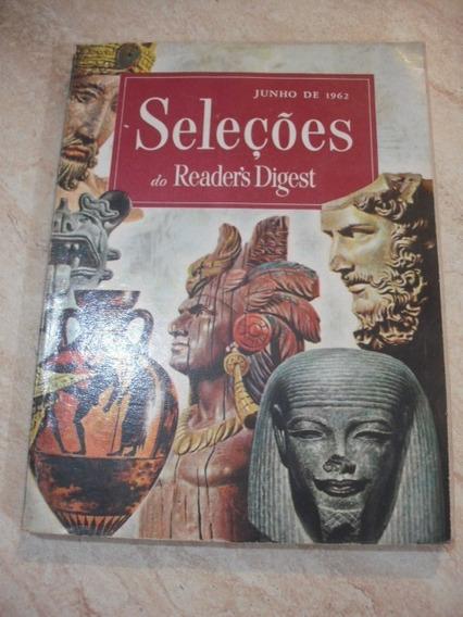 Livro Seleções Antigo Junho 1962 Readers Digest