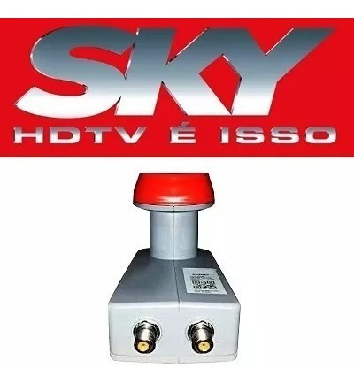 Lnb Hd Sky Faixa Larga Novo Sky 2 Unidades