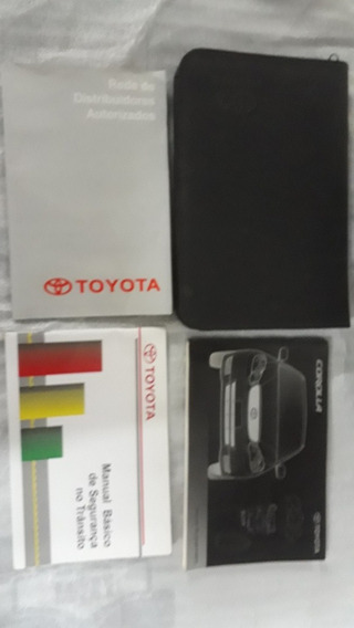 Manual Proprietário Toyota Corolla 2003.